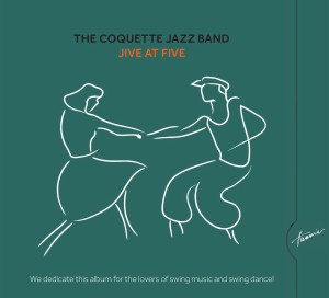 HRCD1805 The Coquette Jazz Band – Jive At Five front cover
